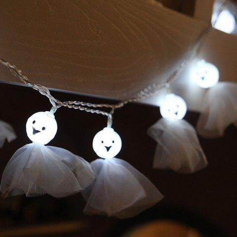 Chic 10-LED Halloween Ghost string Lights Decorated Colored Lamp
