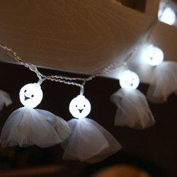 10-LED Halloween Ghost string Lights Decorated Colored Lamp -