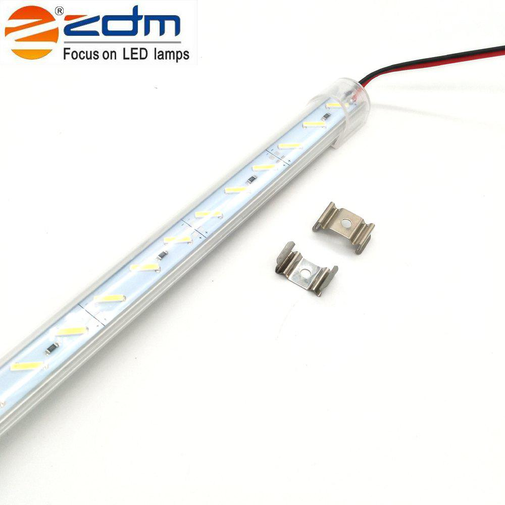 Buy Zdm 100CM 18W 72PCS 8520 Smd 1200-1320lm Warm White / Cool White Light Led Strip Lamp (Dc12v / Dc24v)