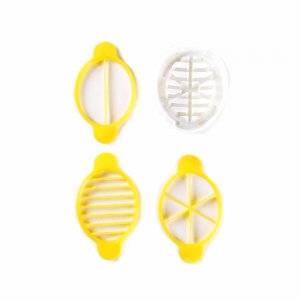 Multi-Functional Egg Cutter - YELLOW