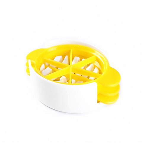 Trendy Multi-Functional Egg Cutter YELLOW