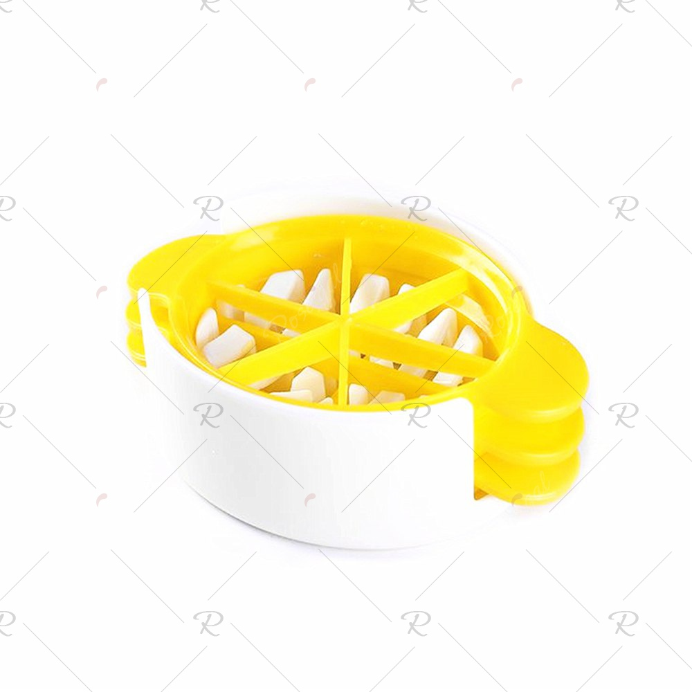 Multi-Functional Egg CutterHOME<br><br>Color: YELLOW;