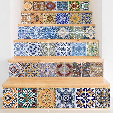 Store Ceramic Tiles Patterns Style Stair Sticker Wall Decor
