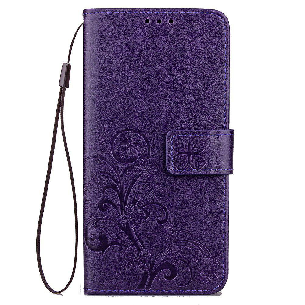 Discount Yc Lucky Clover Holster Leaf Card Lanyard Pu Leather for Xiaomi Max