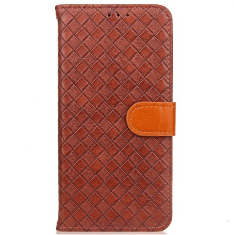 Outfit Yc Knit Lines Double Card Lanyard Pu Leather for Samsung S8
