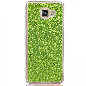 Yc Powder Coated Leather All Wrapped Tpu Mobile Phone Case for Samsung A510 -