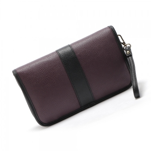 Pochette en relief Color Block -