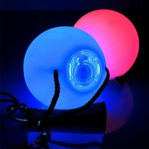 Youoklight 2PCS 1W DC 5V LED Poi Thrown Balls for Belly Dance Level Hand Props -