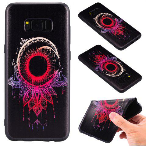 Cheap 3D Embossed Color Pattern TPU Soft Back Case for Samsung Galaxy S8 Plus