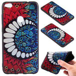 3D Embossed Color Pattern TPU Soft Back Case for Huawei P8 Lite 2017 -