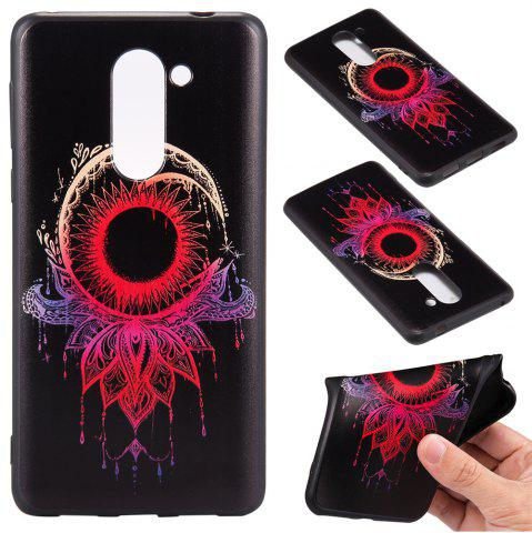 Hot 3D Embossed Color Pattern TPU Soft Back Case for Huawei Honor 6X
