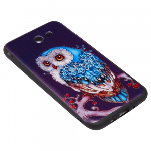 3D Embossed Color Pattern TPU Soft Back Case for Samsung Galaxy J7 2017 (America Edition) -