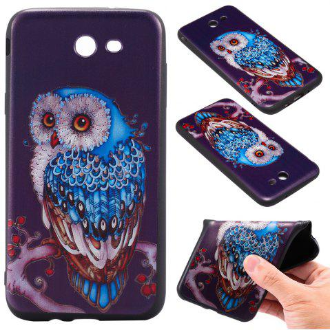 Outfit 3D Embossed Color Pattern TPU Soft Back Case for Samsung Galaxy J7 2017 (America Edition)