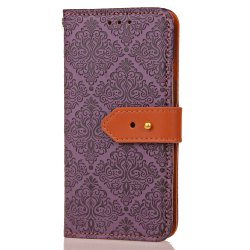 Yc European Style Card Lanyard Pu Leather Case for Samsung I9500 -