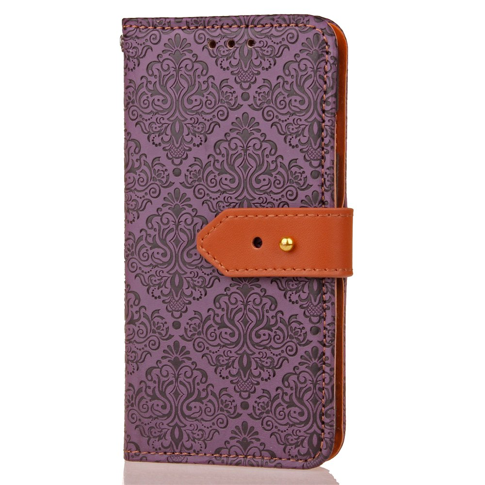 Discount Yc European Style Card Lanyard Pu Leather Case for Samsung I9500