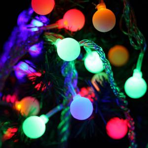 Supli Led String Lights 10 M 100 Leds Alimentation 220V - 240V - Coloré