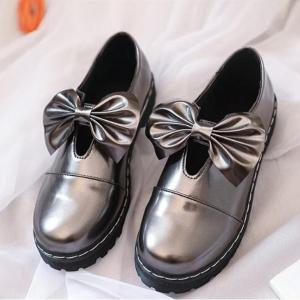 Bowknot Decorated Slip On Shoes -