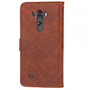 Yc European Style Card Lanyard Pu Leather for Lg G3 -
