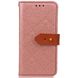 Yc European Style Card Lanyard Pu Leather Case for Samsung S8 Plus -
