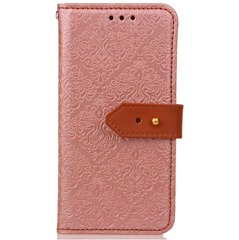 Trendy Yc European Style Card Lanyard Pu Leather Case for Huawei P9 Lite