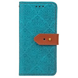 Yc European Style Card Lanyard Pu Leather Case for Huawei P9 Lite -