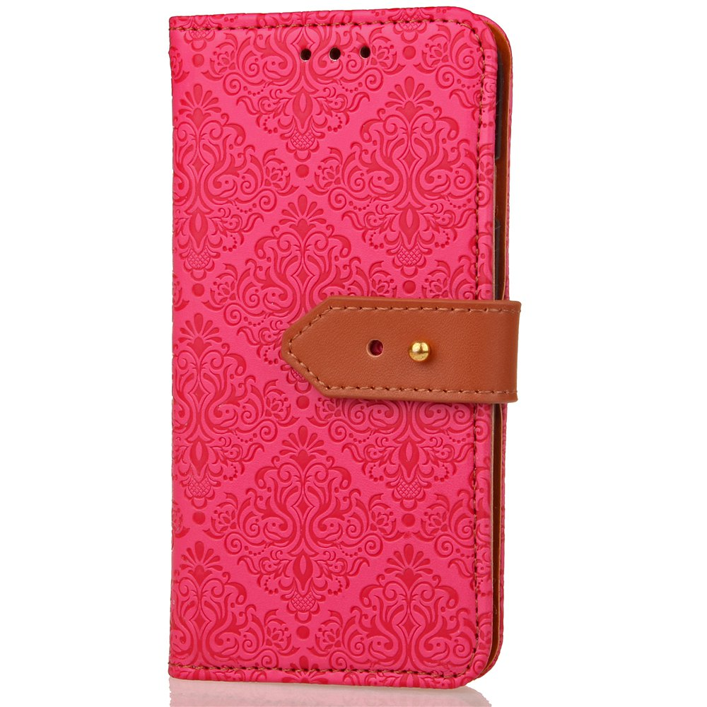 Affordable Yc European Style Card Lanyard Pu Leather Case for Huawei P9 Lite