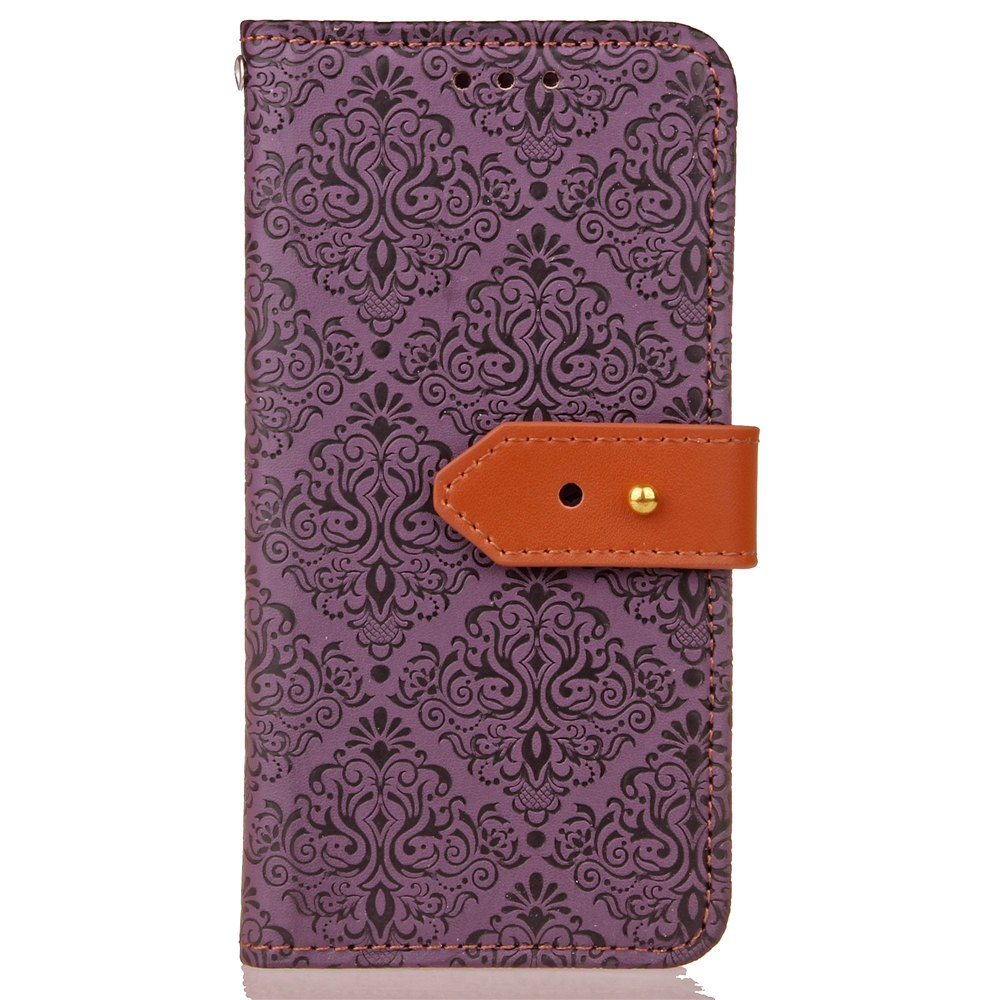 Latest Yc European Style Card Lanyard Pu Leather Case for Huawei P9 Lite