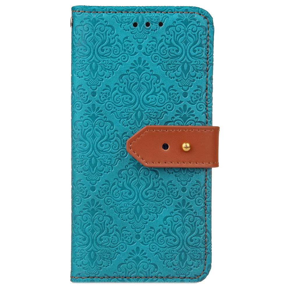 Cheap Yc European Style Card Lanyard Pu Leather Case for Huawei P9 Lite