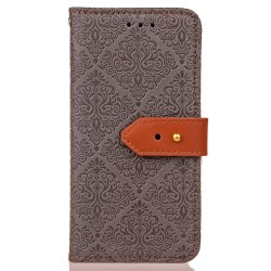 Yc European Style Card Lanyard Pu Leather Case for Huawei P10 Plus -