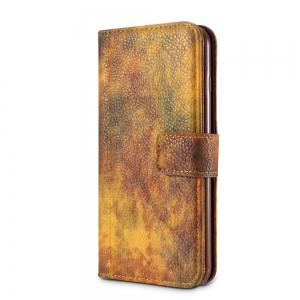 Wkae Forest Series Colorful Paiting Litchi Texture Premium PU Leather Horizontal Flip Stand Wallet Case Cover  with Card Slots for iPhone 6 6s -