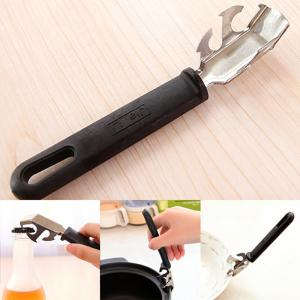 Multifunctional Stainless Steel Anti-Hot Plate Clip Bottle Opener -