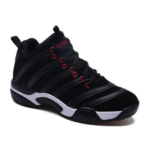 Online Men Casual Basketball Shoes - 43 BLACK Mobile