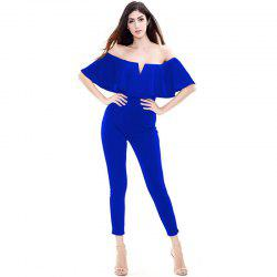 Honeyle Womens Dress Sexy Plus Size Purity Catsuit - BLUEBELL 2XL
