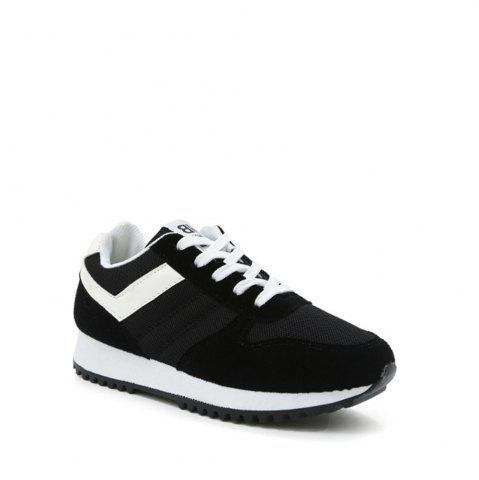Best Color Block Lace-Up Sneakers