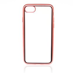 Protective Ultra-Thin Electroplating Tpu Back Case Cover for iPhone 8 -