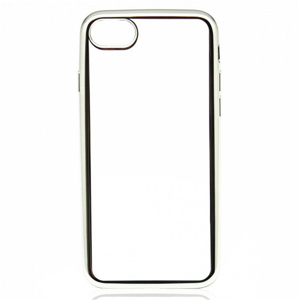 Online Protective Ultra-Thin Electroplating Tpu Back Case Cover for iPhone 8