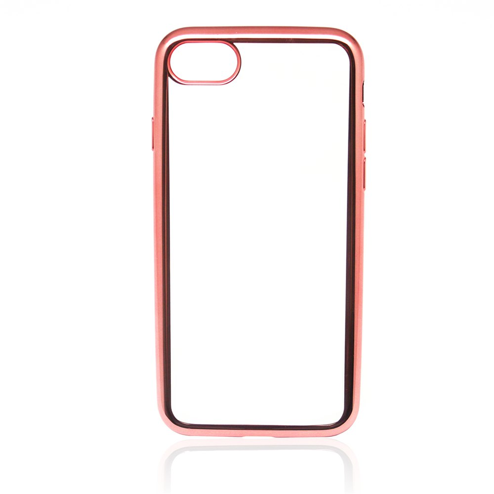 Outfit Protective Ultra-Thin Electroplating Tpu Back Case Cover for iPhone 8