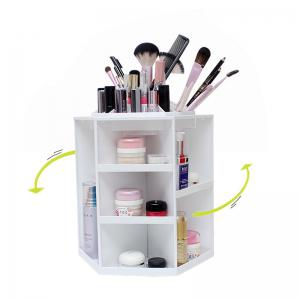 360 Degree Rotating Cosmetic Makeup Organizer Box Storage Rack Case Stand Holder Jewelry Gifts Toy -