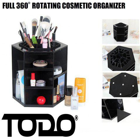Sale 360 Degree Rotating Cosmetic Makeup Organizer Box Storage Rack Case Stand Holder Jewelry Gifts Toy