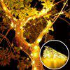 5M 50 LEDS Silver Wire Strip Lights Battery Operated Fairy Garlands Christmas Holiday Wedding Party 1PC -