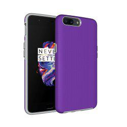 Non-slip Surface Shockproof Back PC Case for OnePlus 5 -