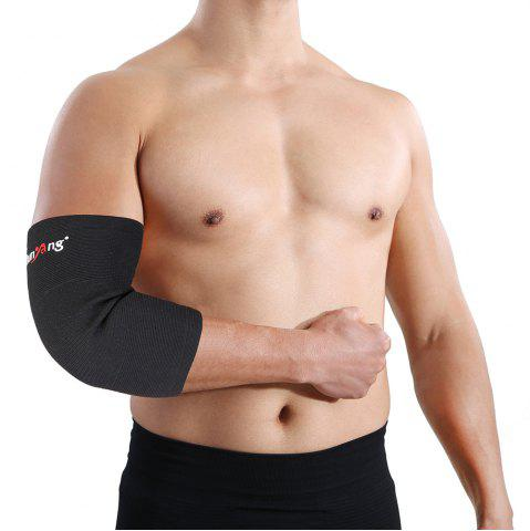 Unique Mumian A22 Classic Black Elbow Sports Elbow Sleeve Brace - 1PCS
