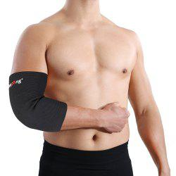 Mumian A22 Classic Black Elbow Sports Elbow Sleeve Brace - 1PCS -