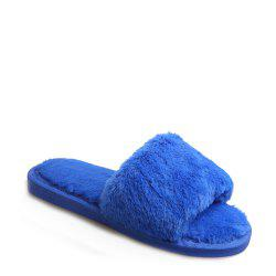 2017 Wool Flat Cotton Slippers -