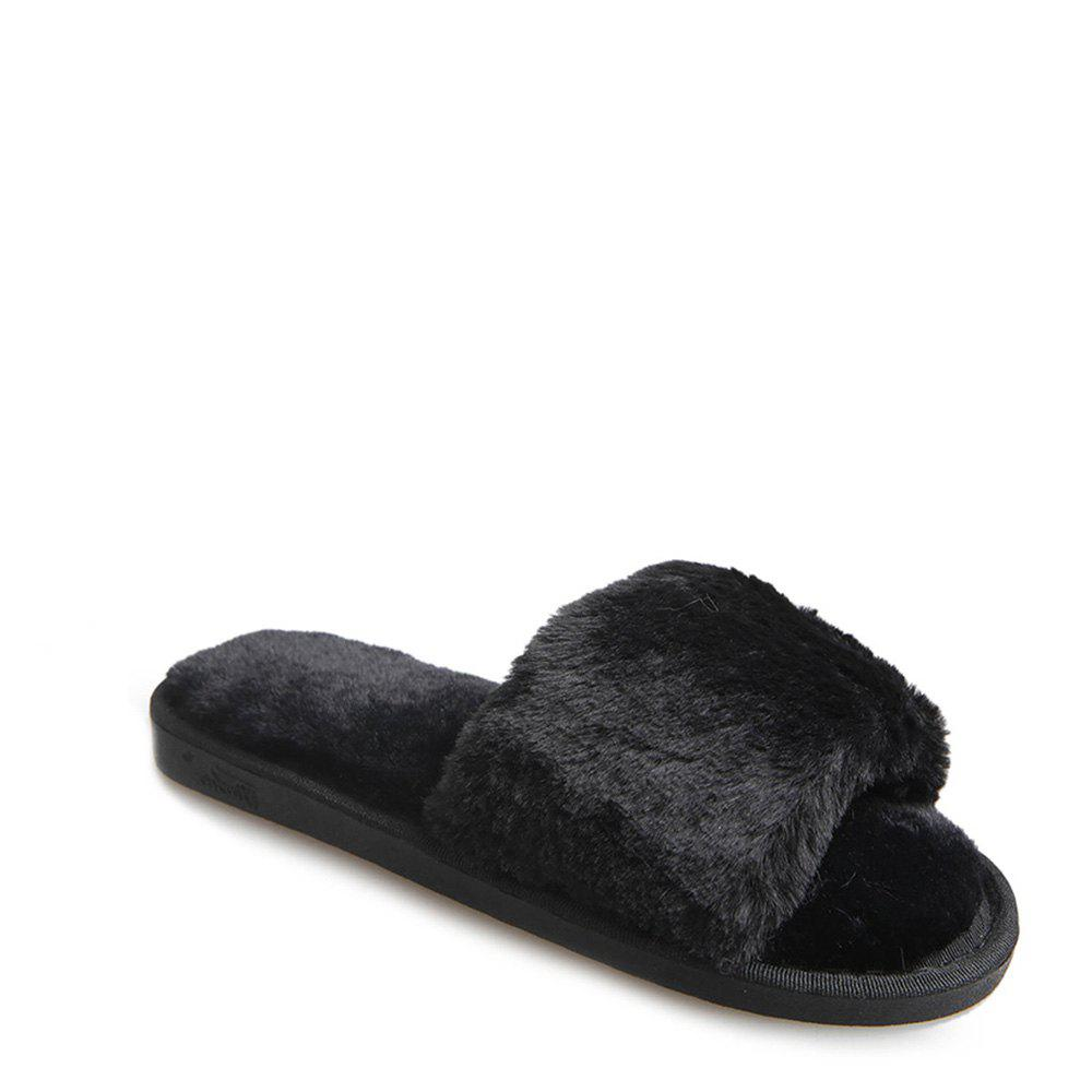 Fancy 2017 Wool Flat Cotton Slippers