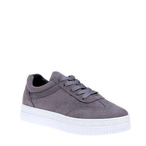 Fashion 2017 Tide Sports Casual Shoe Girl - 39 GRAY Mobile