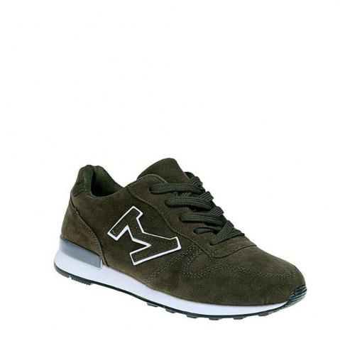 Affordable In 2017, We Will Have A Ladies Shoes - 36 ARMY GREEN Mobile