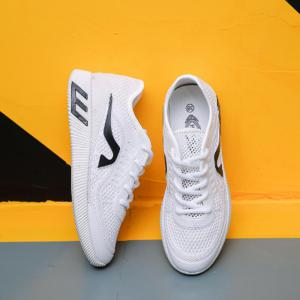 Hollow Out Color Block Casual Shoes - WHITE 39