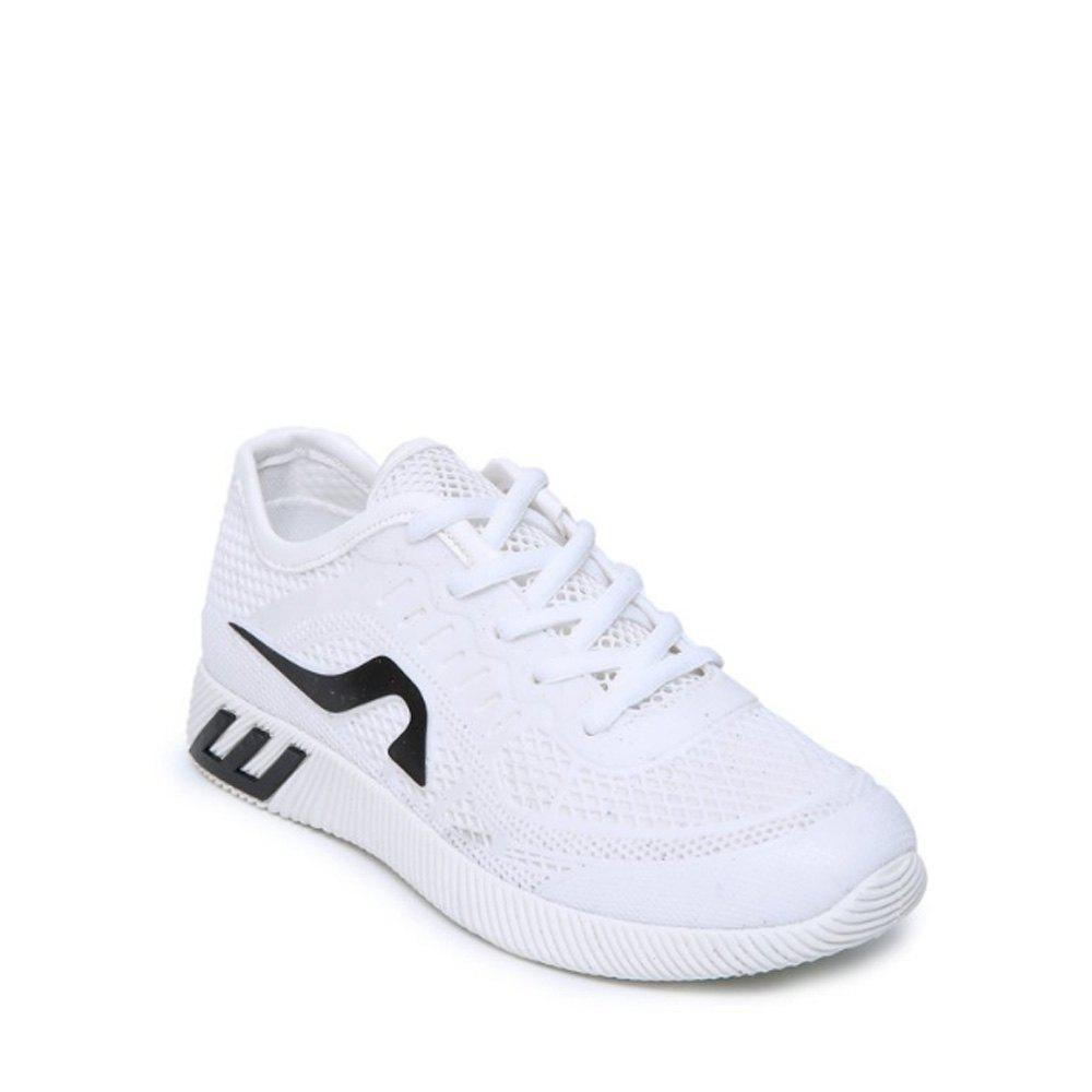 Discount Hollow Out Color Block Casual Shoes