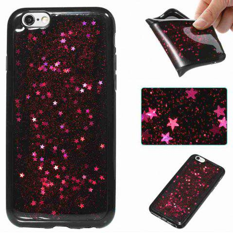Best Black Five-Pointed Star Painted Tpu Phone Case for Iphone 6 /6s